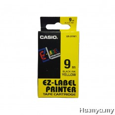 Casio EZ-Label Tape Cartridge 9mm - Yellow