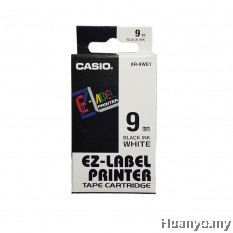 Casio EZ-Label Tape Cartridge 9mm - White