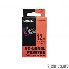Casio EZ-Label Tape Cartridge 12mm - Red
