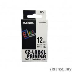 Casio EZ-Label Tape Cartridge 12mm - White