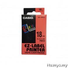 Casio EZ-Label Tape Cartridge 18mm - Red