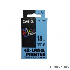 Casio EZ-Label Tape Cartridge 18mm - Blue