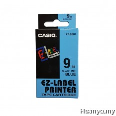 Casio EZ-Label Tape Cartridge 9mm - Blue