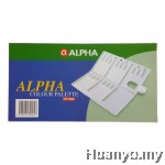 Alpha Artist Watercolor Oil Acrylic Colour Plastic Palette
