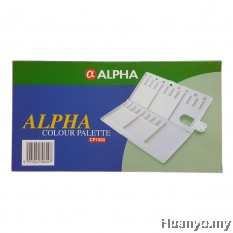 Alpha Artist Watercolor Oil Colour Plastic Palette