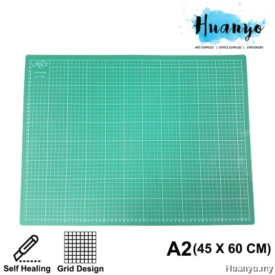 Apex Self Healing Grid Layout Cutting Mat A2 45 X 60CM (3MM Thickness)