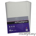 CAMPAP A3 Tracing Paper 65gsm  - 10 Sheet/Pack