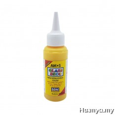 AMOS Glass Deco Paint 60ML - Sunny Yellow