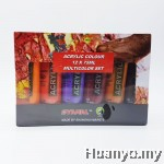 Marie's Acrylic Colours 75ML (Set of 12)