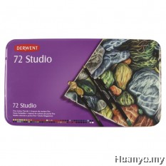 Derwent Studio Colouring Pencils - Tin of 72