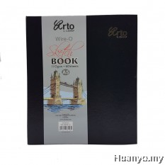 Campap Arto Wire-O Art Diary Sketch Book A5- 110gsm/60's