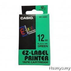 Casio EZ-Label Tape Cartridge 12mm - Green