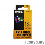 Casio EZ-Label Tape Cartridge 18mm - Gold
