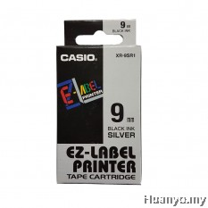 Casio EZ-Label Tape Cartridge 9mm - Silver