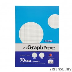 CAMPAP A4 Graph paper 70gsm  - 50 Sheet/Pack
