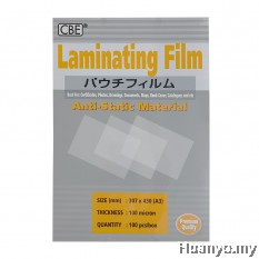 CBE Laminate/Laminating Film A3 Paper