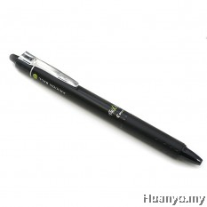 Pilot Frixion Retractable Erasable Gel Ink Pen 0.7MM - Black