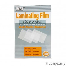 CBE Laminate/Laminating Film 65 X95MM