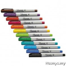 Sharpie Ultra Fine Permanent Marker 12 Colour Set