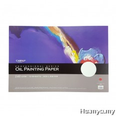 CAMPAP Oil Painting Paper 240gsm (305 X 458MM)