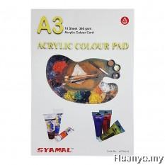 Syamal Acrylic Pad 360GSM A3 Size