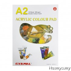 Syamal Acrylic Pad 360GSM A2 Size