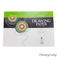 CAMPAP Drawing Paper 135GSM A3 Size (20 sheets/pack)