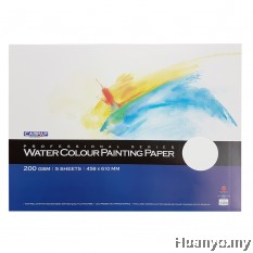 CAMPAP Watercolour Painting Paper 200gsm (458 X 610MM)