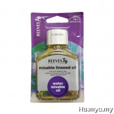 Reeves Mixable Linseed Oil 75ml