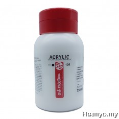 Royal Talens Acrylic Colour - Titanium White (750ML)