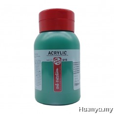 Royal Talens Acrylic Colour - Permenant Green Deep (750ML)