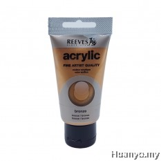 Reeves Acrylic Colour 75ml (Bronze)