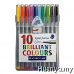 Staedtler Triplus Fineliner 0.3mm (Set of 10 Colours)