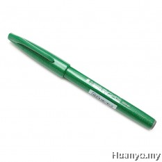 Pentel Fude Touch Brush Sign Pen  - Green