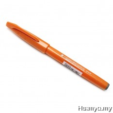 Pentel Fude Touch Brush Sign Pen  - Orange