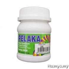 Pelaka Mural Poster Colour White (No.100) - 80g