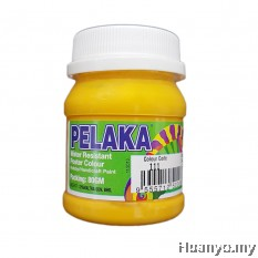 Pelaka Mural Poster Colour Chrome Yellow (No.111) - 80g