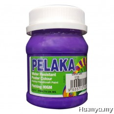 Pelaka Mural Poster Colour Violet (No.133 - Special Colour) - 80g
