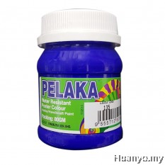 Pelaka Mural Poster Colour Marine Blue (Special Colour) No.135 - 80g