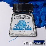 Winsor & Newton Drawing Ink - Blue (14ml)