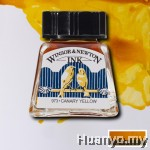Winsor & Newton Drawing Ink - Canary Yellow (14ml)