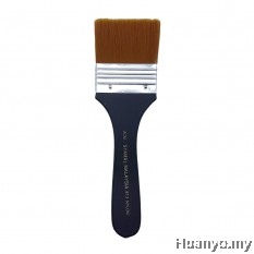 Syamal Nylon Flat Brush No.813 - 6CM
