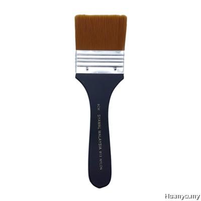 Syamal Nylon Flat Brush No.813 - 6CM