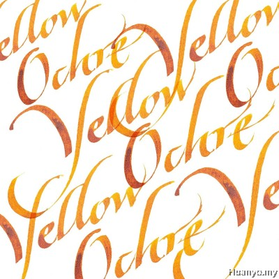 Winsor & Newton Calligraphy Ink - Yellow Ochre (30ml)