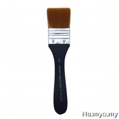 Syamal Nylon Flat Brush No.813 - 4CM