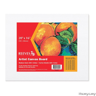 "Reeves Artist Canvas Board 20""x 16''"