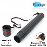 A0 Expandable Telescopic Art Blueprint Plastic Storage Drawing Tube (Diameter: 9cm)