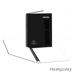 Campap Wire-O PP Creative Sketch Book A3 110gsm