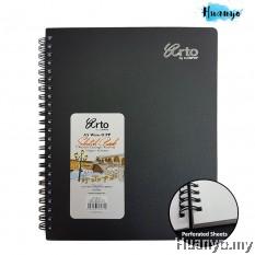 Campap Arto Wire O Sketch Book A5 110gsm/60sheets
