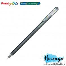Pentel Hybrid Dual Metallic Gel Pen (Silver)